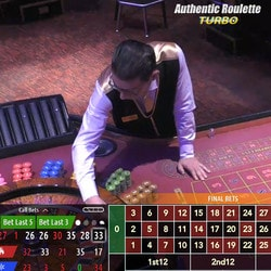 Roulettes Authentic Gaming en direct de 3 vrais casinos terrestres