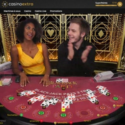 Jouez à Blackjack Party sur Casino Extra