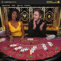 Jouez à Blackjack Party sur Casino Extra