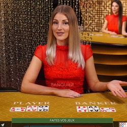 Speed Baccarat en live d'Evolution Gaming