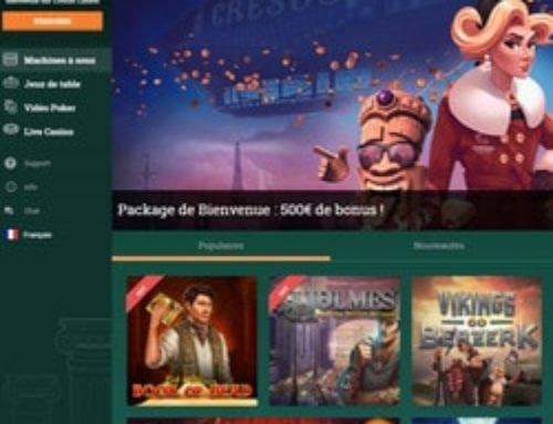 Monsieur Vegas et Oscar Bianca ferment, Cresus Casino survit
