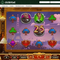 Machine à sous Orient Express disponible sur Dublinbet Casino