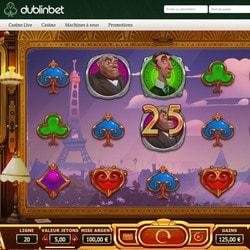 Machine à sous Orient Express disponible sur Dublinbet Casino