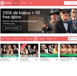 Stakes Casino propose les jeux en live Evolution Gaming
