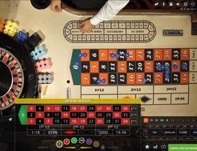Tables de roulette en ligne Evolution Gaming depuis le Dragonara Casino