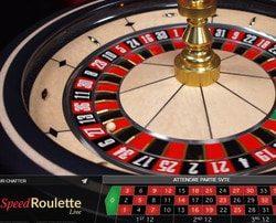 Speed Roulette sur Lucky31 Casino : une des 60 tables de roulettes en ligne