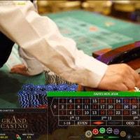 Roulette en ligne en direct du Grand Casino de Bucarest