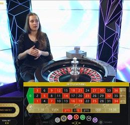 Double ball Roulette pour jouer a la roulette en live avec 2 billes