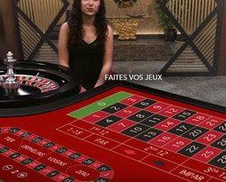 Roulette La Partage avec croupiers en ligne francais