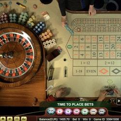 Roulette en live de casinos en ligne avec croupiers en direct