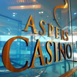 London's Aspers Casino Westfield Stratford