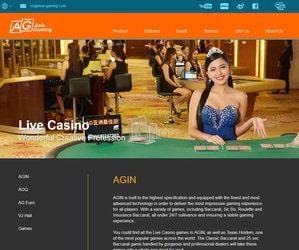Logiciel et casinos en live Asia Gaming