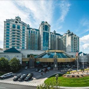 Entrée du Foxwoods Resort Casino aux Etats-Unis