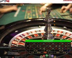 Roulette authentique filmée en direct de l'Hippodrome Casino de Londres