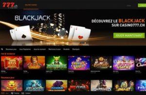 Casino en ligne légal en suisse Casino777