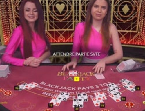Blackjack Party accessible sur Magical Spin