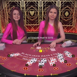 Blackjack Party, la meilleure table de blackjack en ligne Evolution Gaming