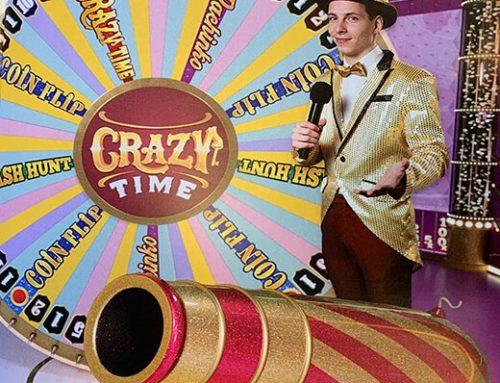 Crazy Time, le jeu live le plus ambitieux d'Evolution Gaming s'apprête à sortir