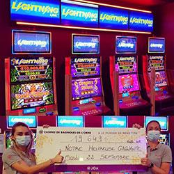 Jackpot au Casino de Bagnoles