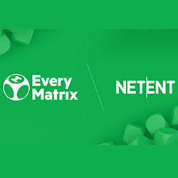Netent Live et EveryMatrix