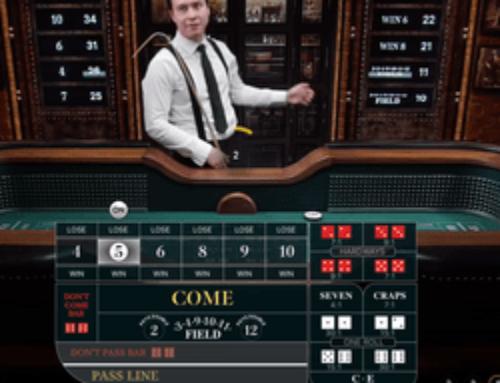 Craps en ligne sur Cresus Casino