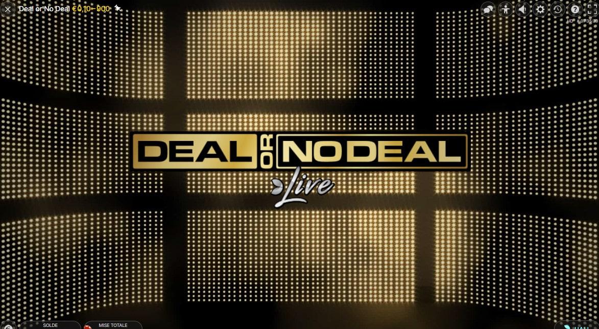 Logo de Deal or No Deal qui est l'equivalent du jeu A Prendre Ou A Laisser
